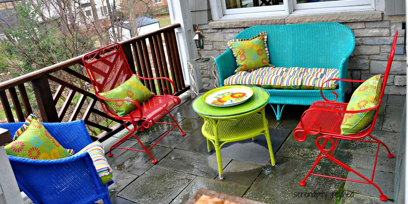 Pin By Serendipity On Urns By Serendipity Refined Colorful Patio