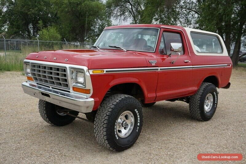 1979 Ford Bronco Factory Trailer Special #ford #bronco # ...