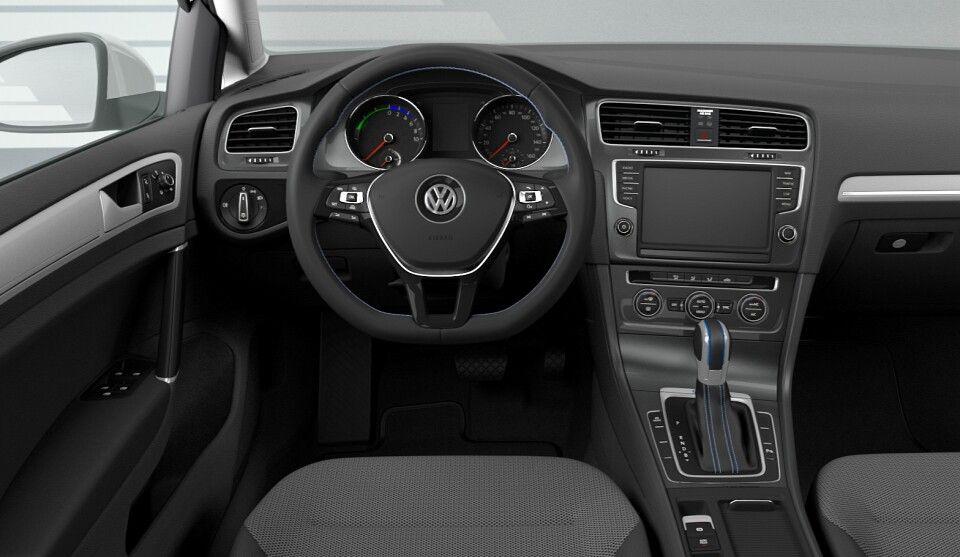 Vw Egolf Interior Electric Cars Pinterest Volkswagen Golf