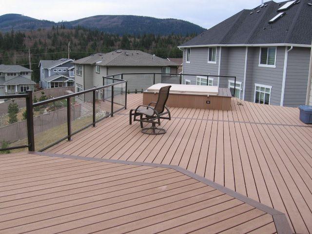 Composite Wood Plastic Roof Deck Details Lumber Prices