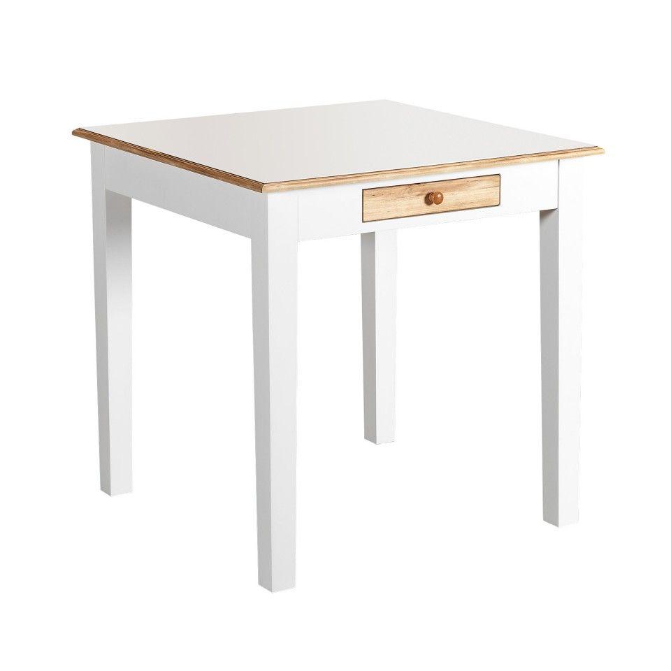 Esstisch Paula 75x75 Weiss Kleiner Kuchentisch Kuche Tisch