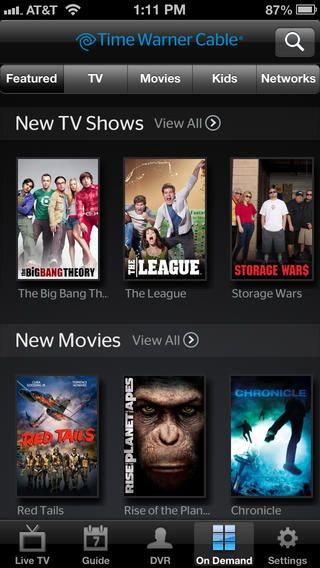 Twc App Vod Iphone Newest Tv Shows New Movies Tv Guide