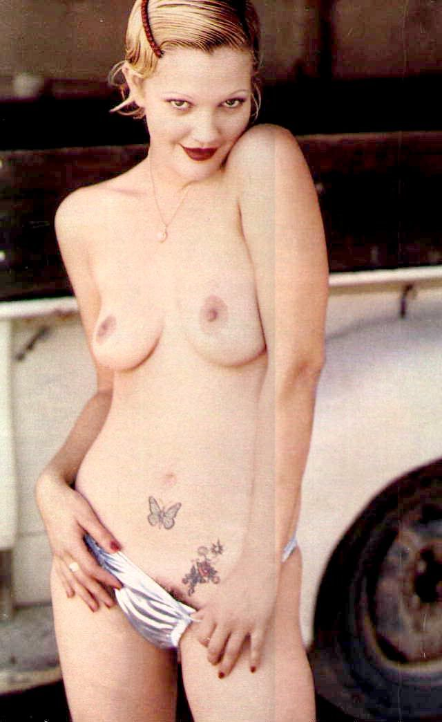 Naked Pics Of Drew Barrymore