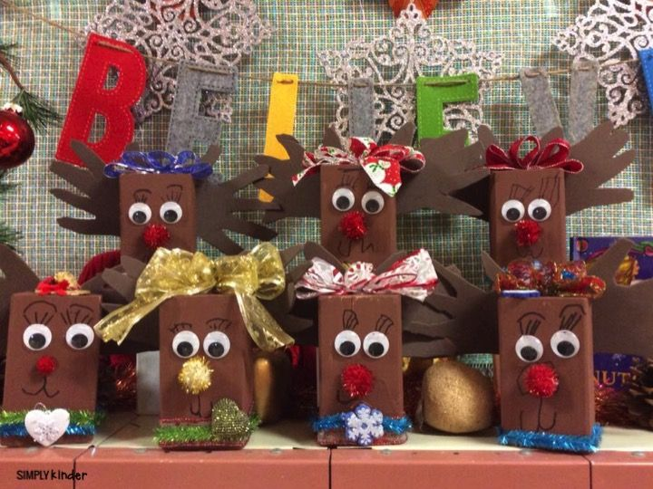Amazing Christmas Gift Ideas For Teachers Kindergarten Part - 13: So Many Great Holiday Projects And Gifts Were Shared In The Simply Kinder  Teacher Facebook Group