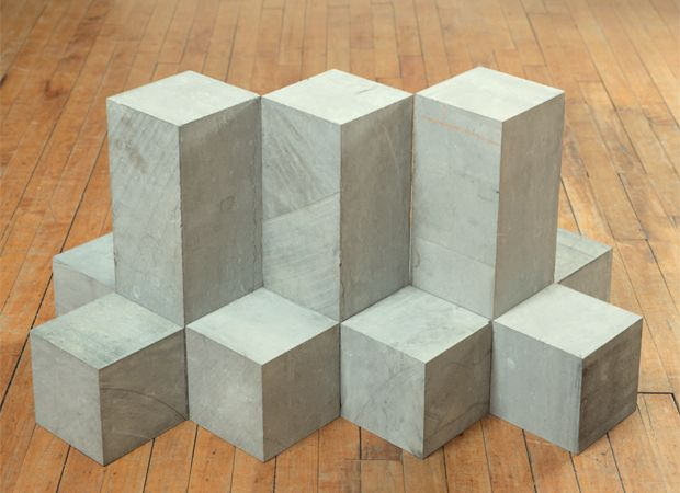 Carl Andre, Secant, 1977 | Gardens, Inspiration and Land art