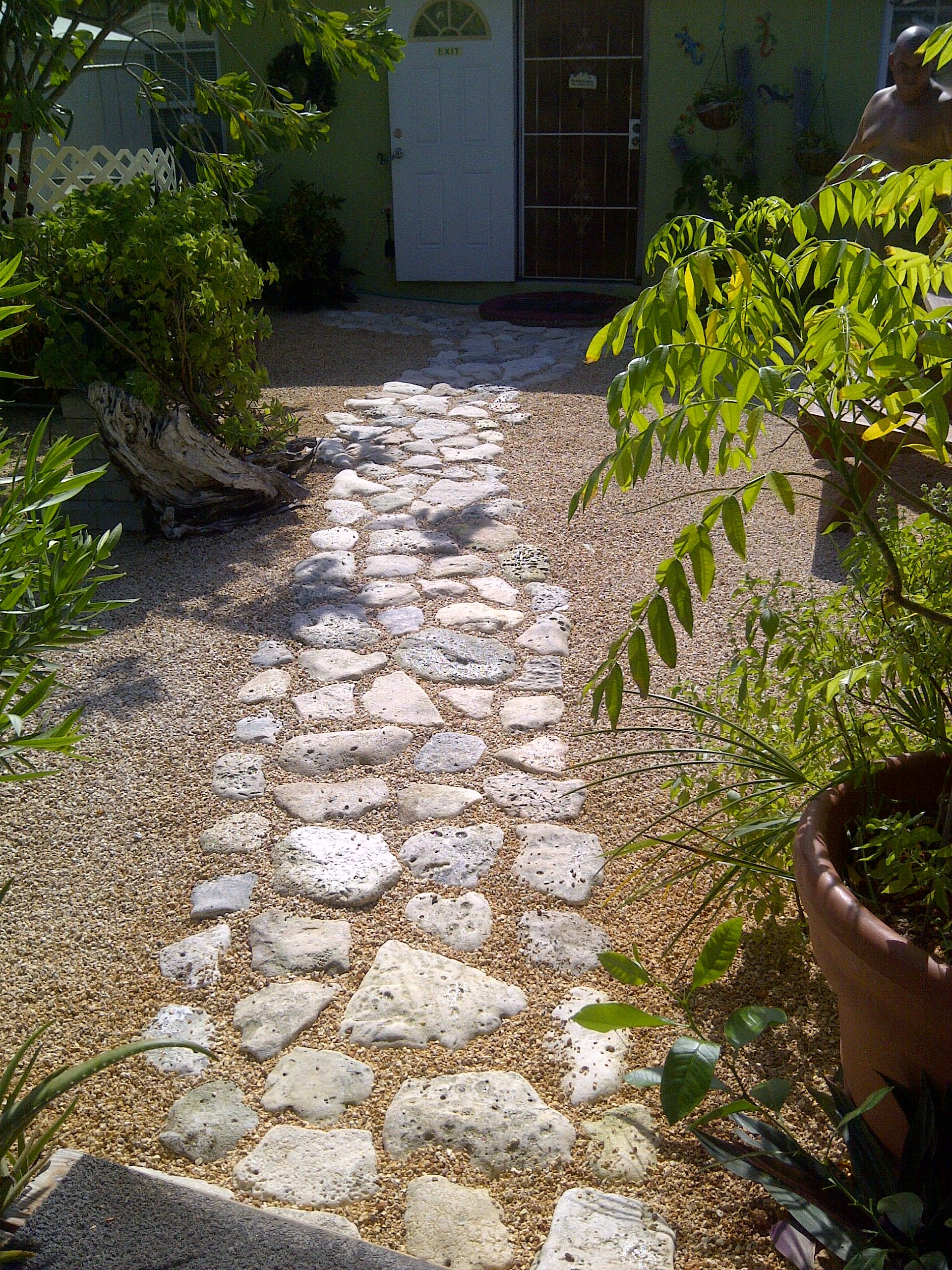 Rock Gardens & Stone Paths