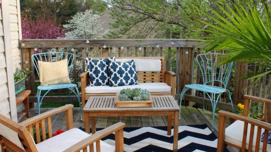 How To Decorate A Small Patio Outdoor Patio Decor Balcony Decor