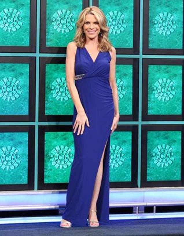 Weekend Getaways Week 2015 Gown #3 | Vanna White\'s Gowns on October ...