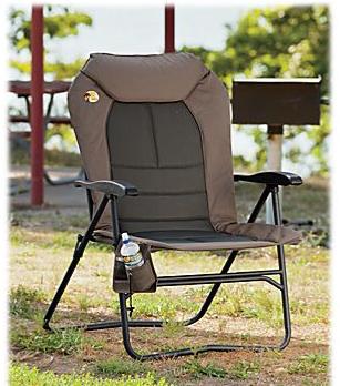 Wondrous Big Outdoorsman Hard Arm Recliner Fold Up Chair Stock Gamerscity Chair Design For Home Gamerscityorg