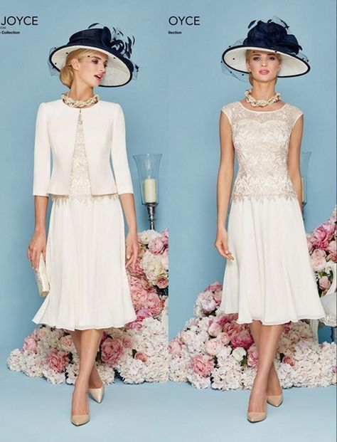 Lace Chiffon Short A Line Mother Of The Bride Dresses Suits With ...