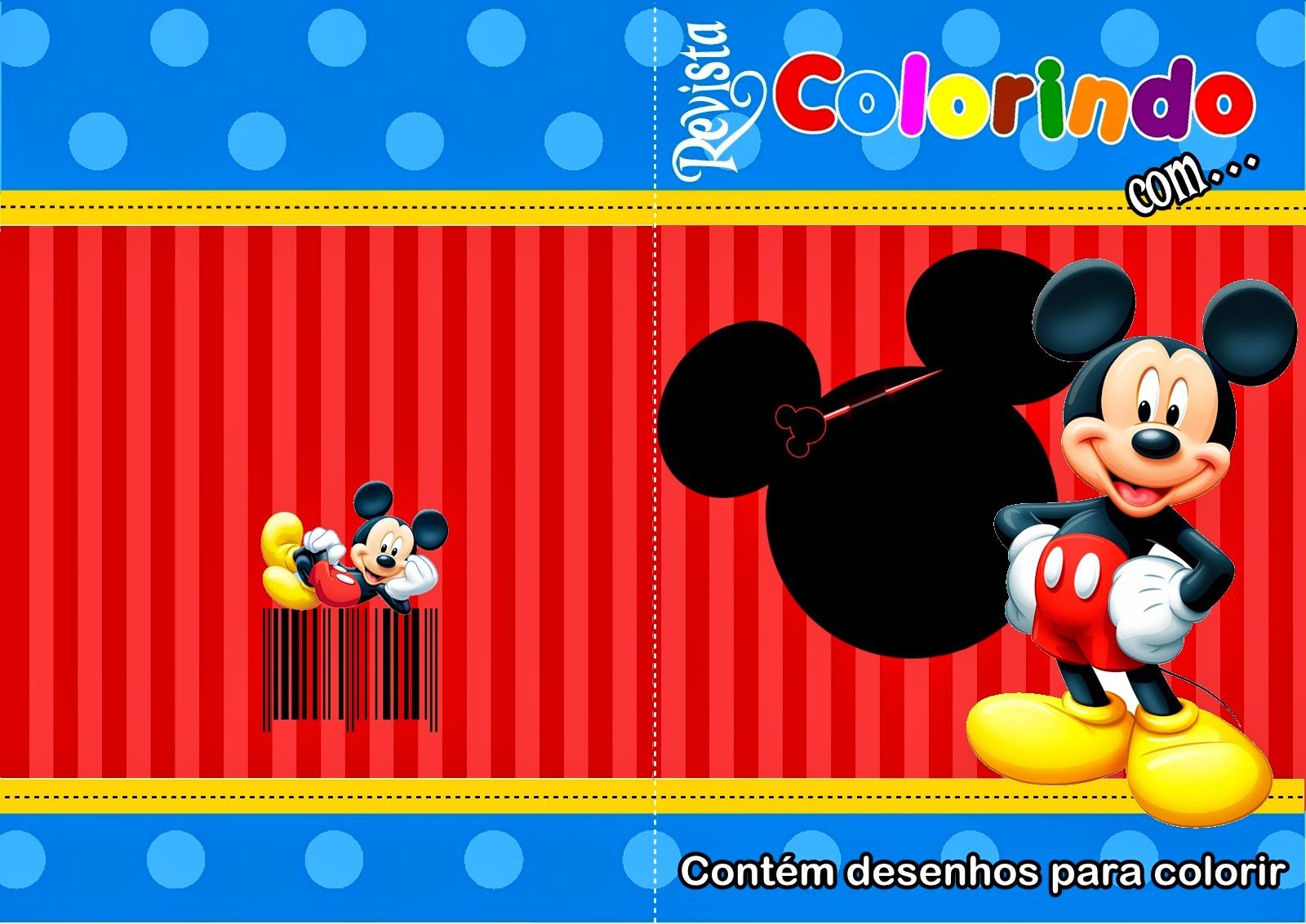 Capa Mickey Jpg 1600 1133 Mickey Party Festa Infantil Mickey