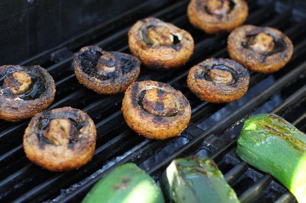juicy grilled mushrooms   stuffed mushrooms grilled mushrooms fire food