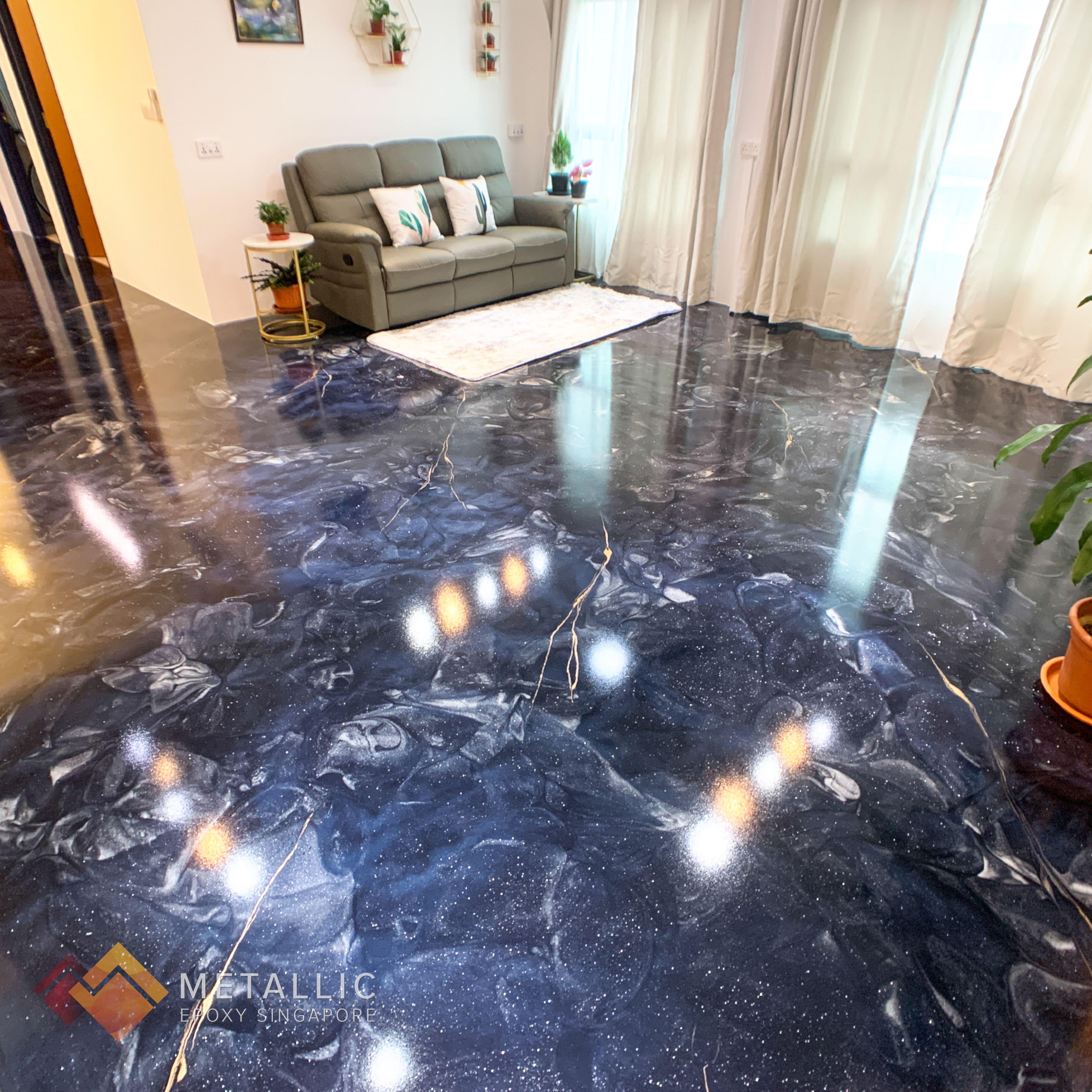 White Epoxy Floor Residential White Epoxy Floor Epoxy Floor Flooring