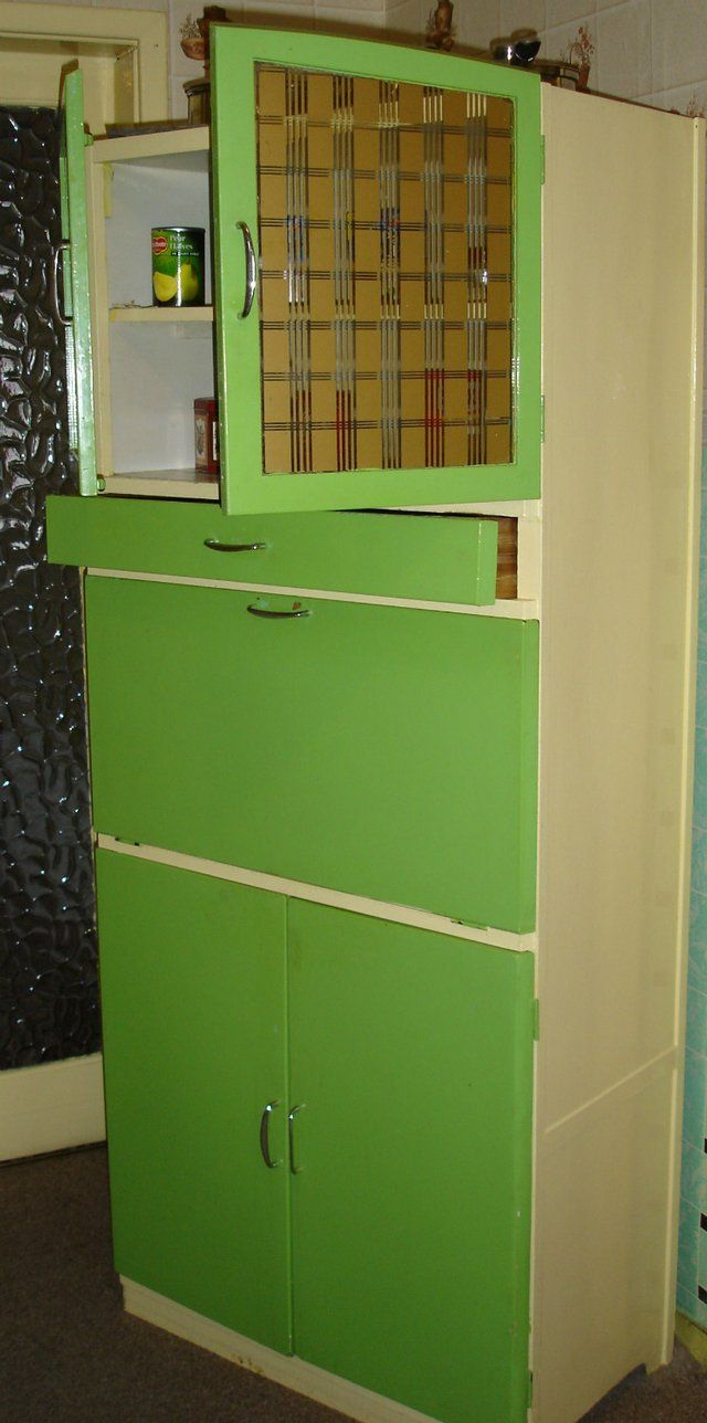 We Say This Classic 1950 S Vintage Kitchen Cabinet Would Make A Fab And Quirky Statement Small Kitchen Furniture Larder Cupboard Antique Furniture For Sale