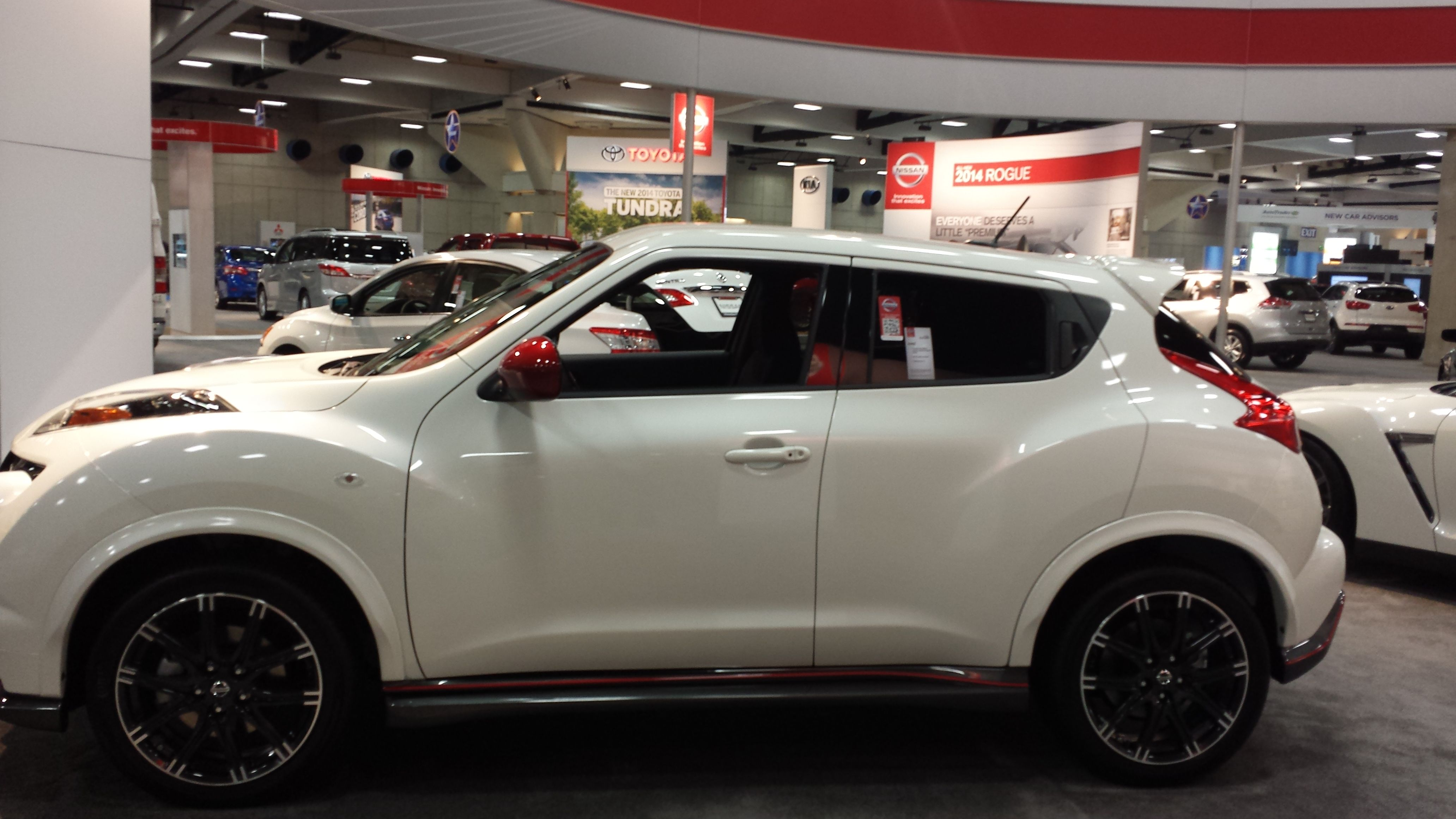 Plan on going to the 2014 San Diego Auto Show this weekend? Be sure to check out the Nissan booth! Here's a sneak peak!