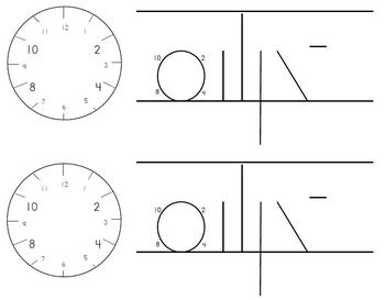 spalding clockface desk template spalding handwriting teaching writing dyslexia teaching. Black Bedroom Furniture Sets. Home Design Ideas