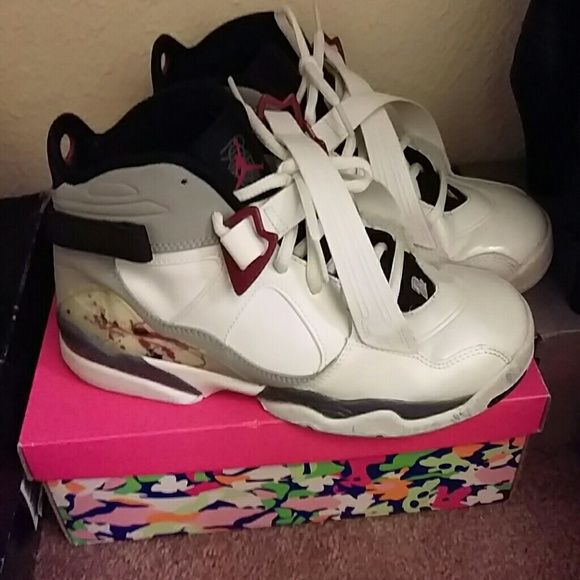 a17182490ba352 Jordan shoes Grey black and white jordan 23 s only worn once practically  new Jordan Shoes Sneakers