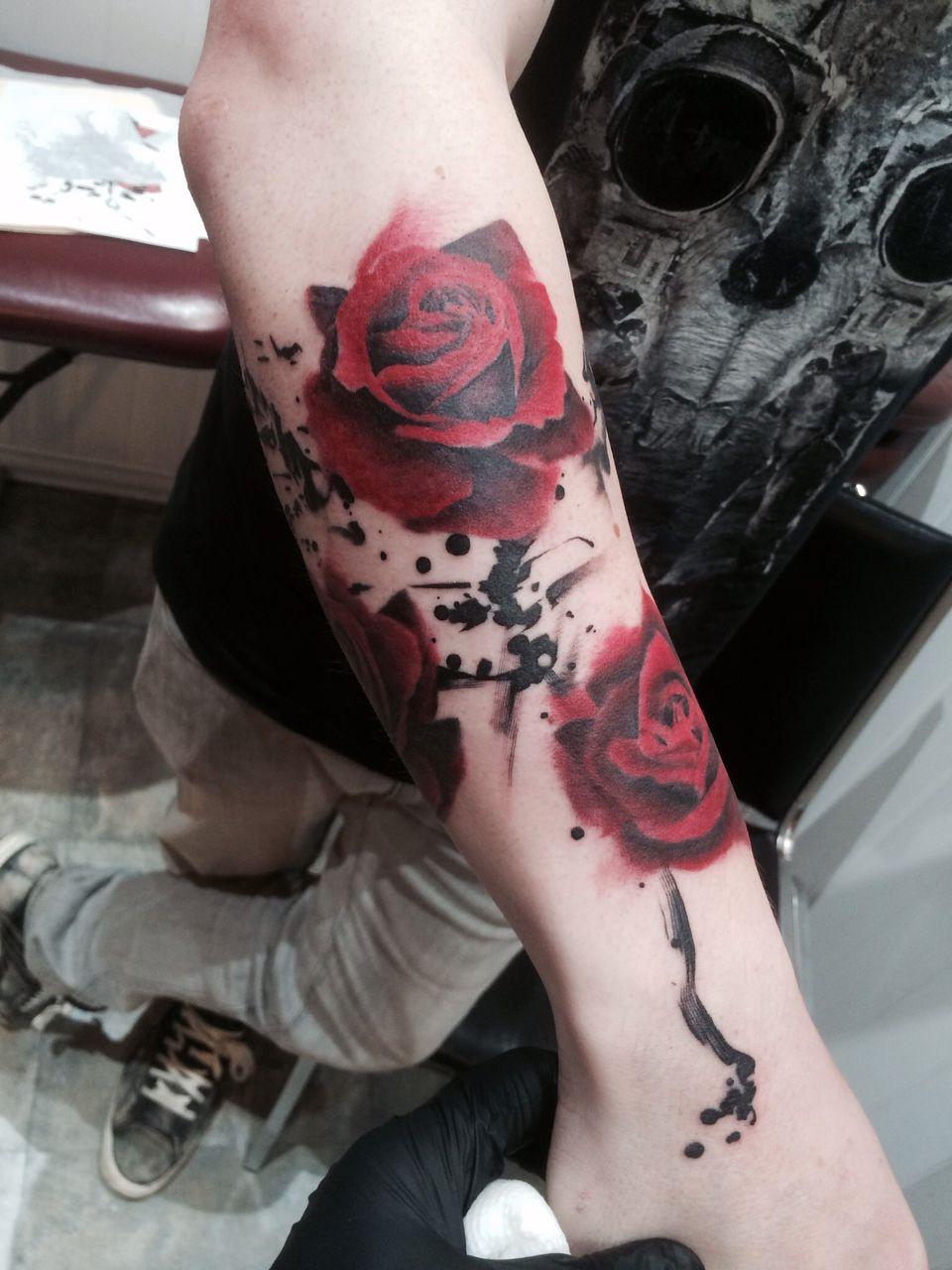 Pete zebley tattoos rose tattoo rose tattoos