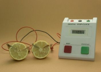 Do you know that lemon can conduct electricity and light up a bulb ...