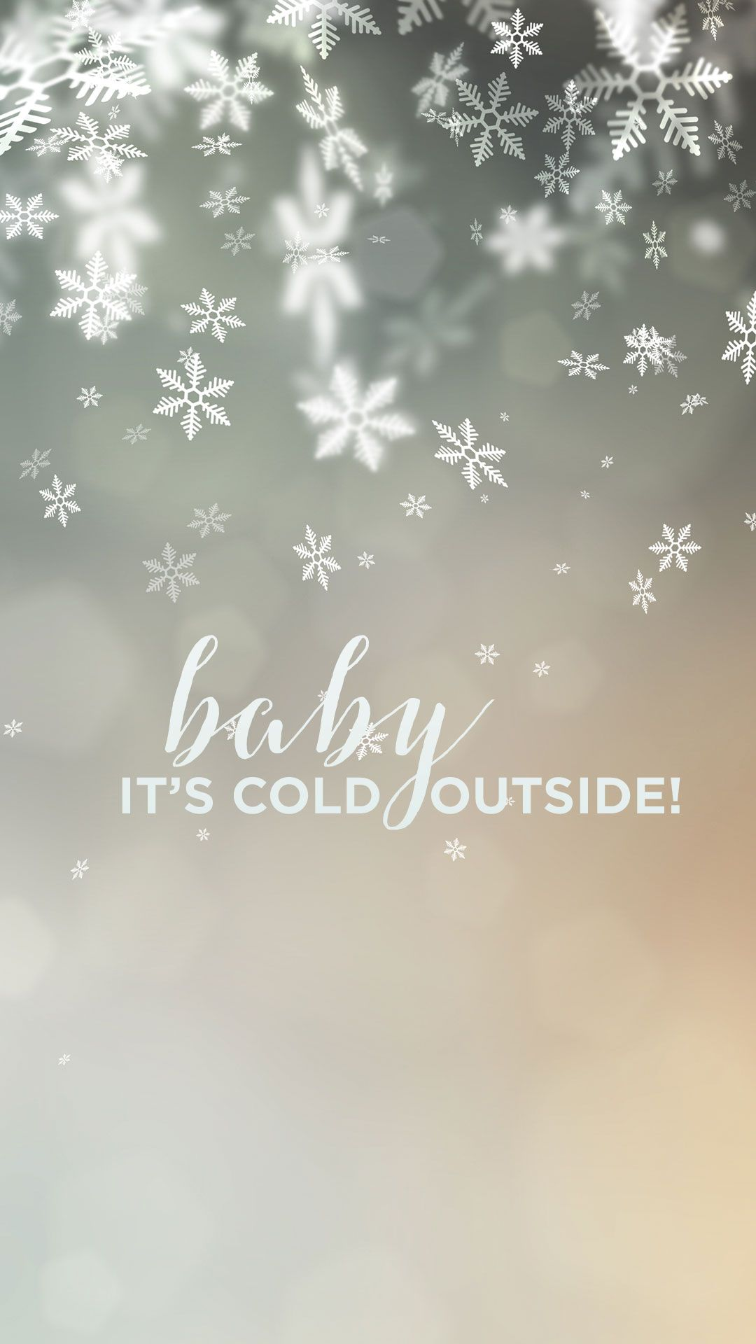 Baby Its Cold Outside wallpaper | Wallpapers | Christmas wallpaper, Winter wallpaper, Holiday ...