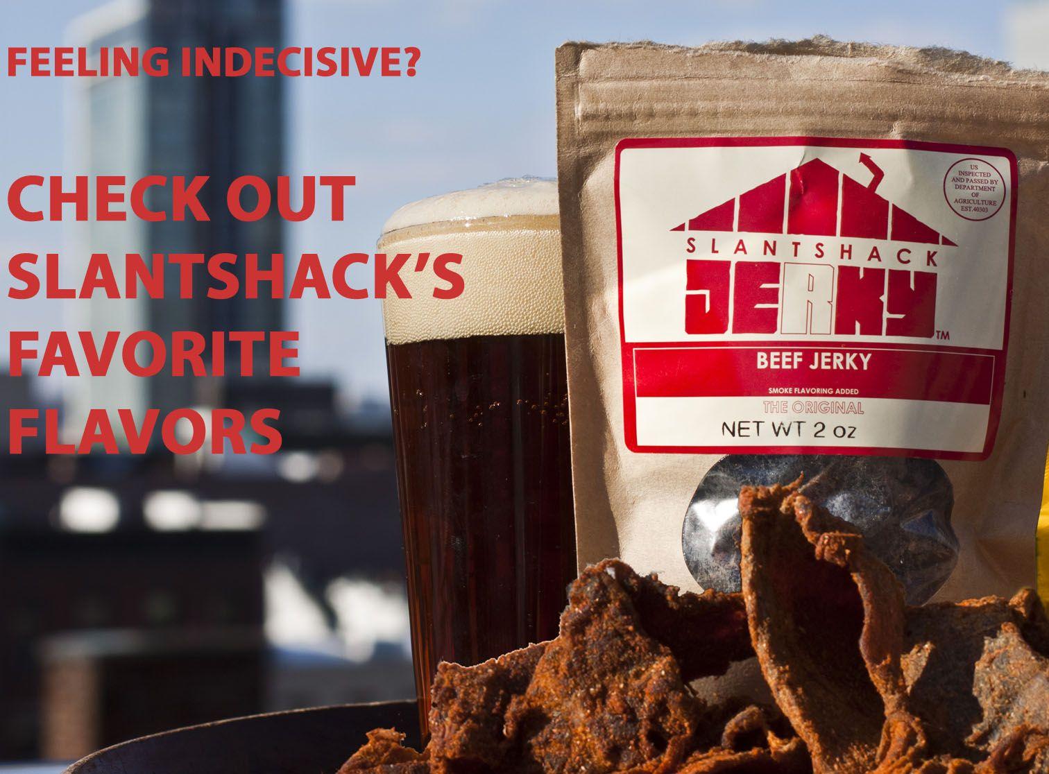 Slantshack Jerky Beef Jerky Grass Fed Beef Jerky