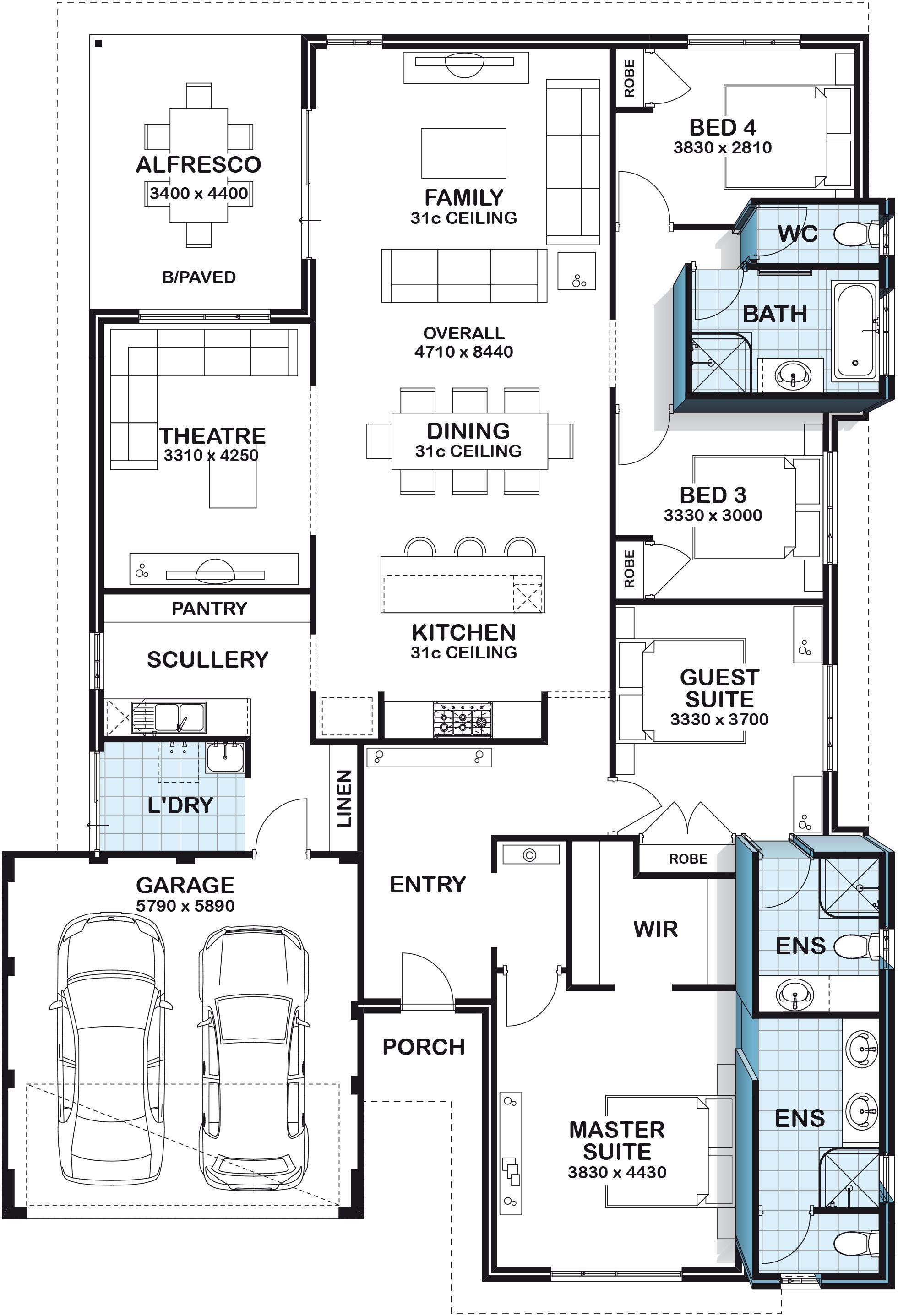 Home Designs Perth House Plans Perth Australis House Plans Bedroom House Plans House Blueprints