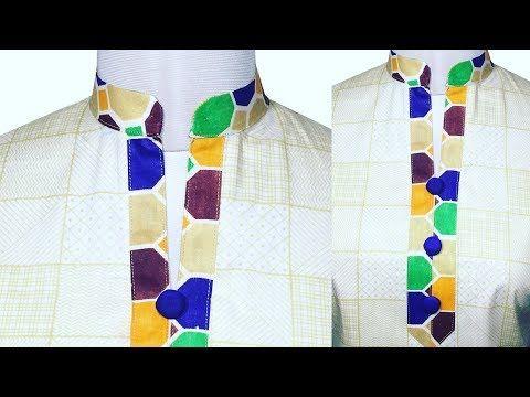 Chinese Collar Neck Cutting And Stitching - YouTube | salwar kameez ...
