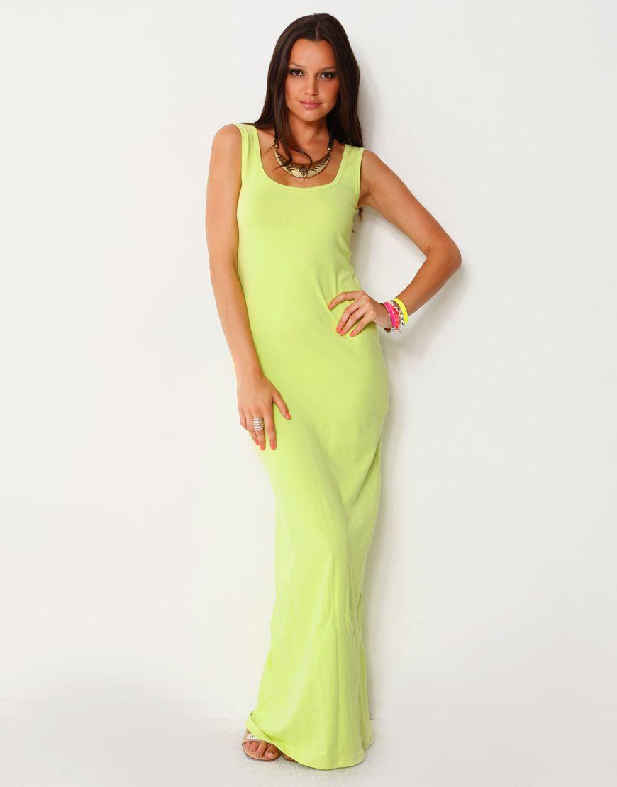 Singlet dress maxi dresses
