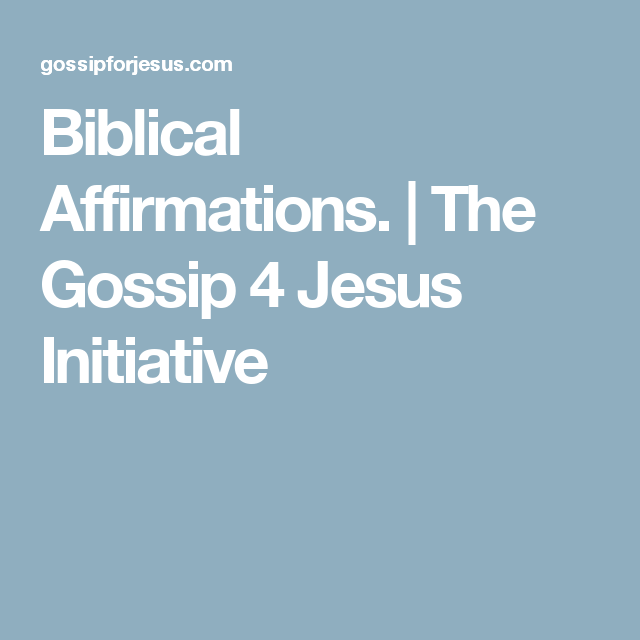 The Gossip 4 Jesus Initiative