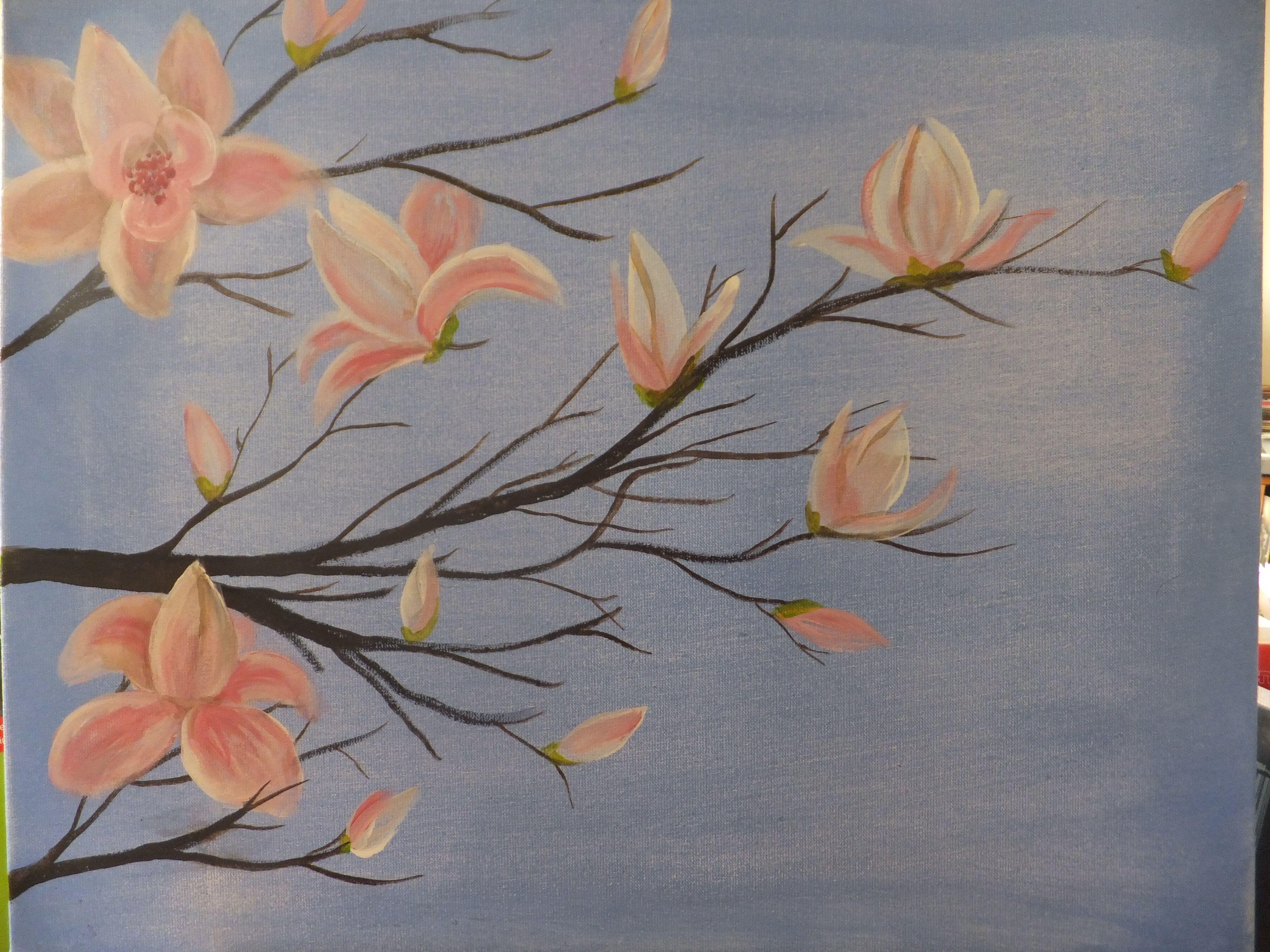 magnolia (by pingwynne)