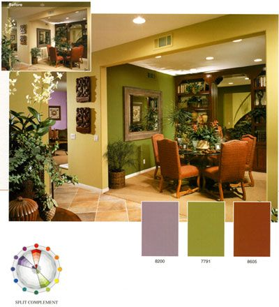 Olive Green Color Scheme Google Search Interior Design Color Schemes Split Complementary Color Scheme Types Of Color Schemes