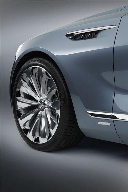 Buick Avenir Concept 2015 Wheel Buick Pinterest Wheels