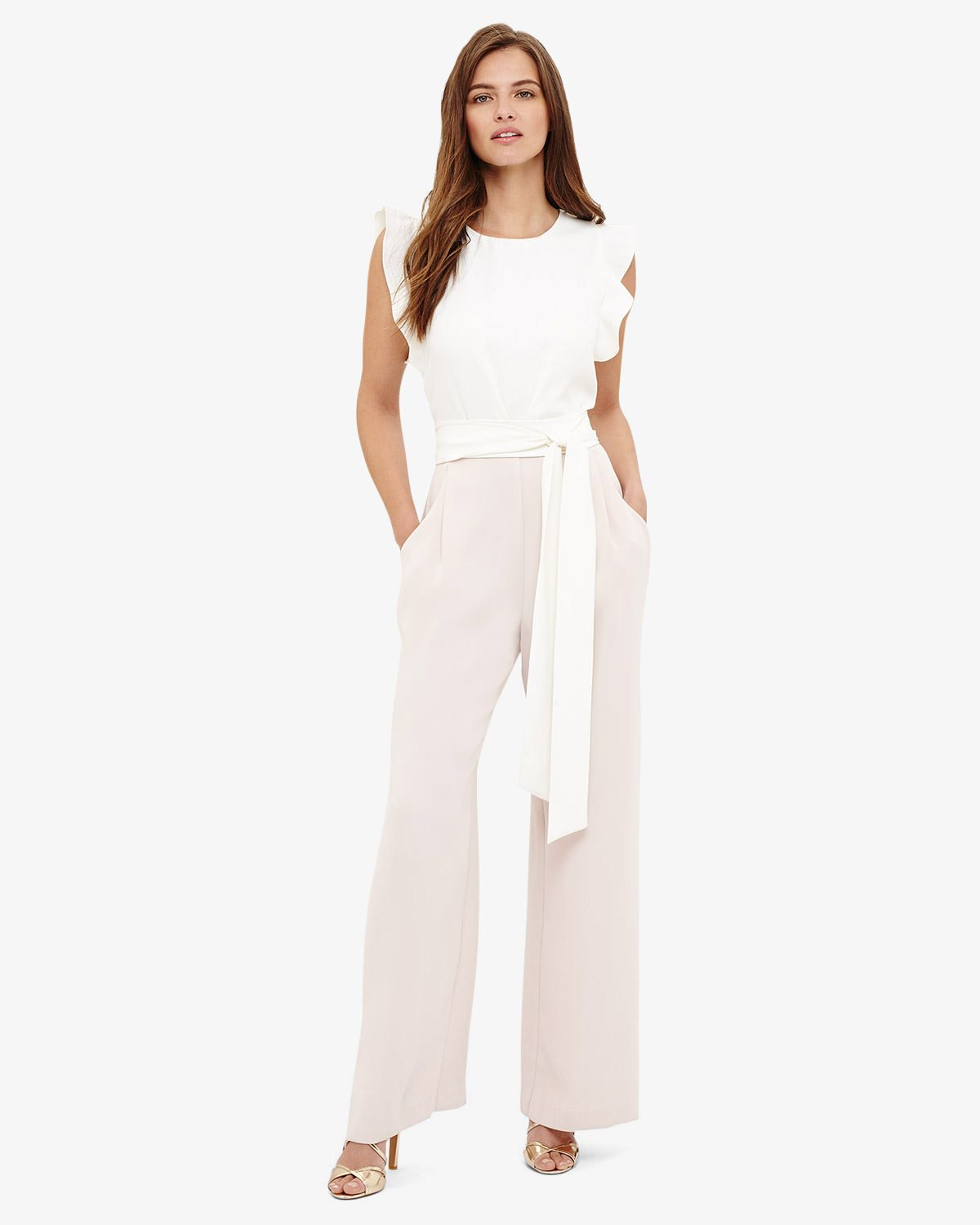 f7c27bdd89a Phase Eight Victoriana Jumpsuit Pink