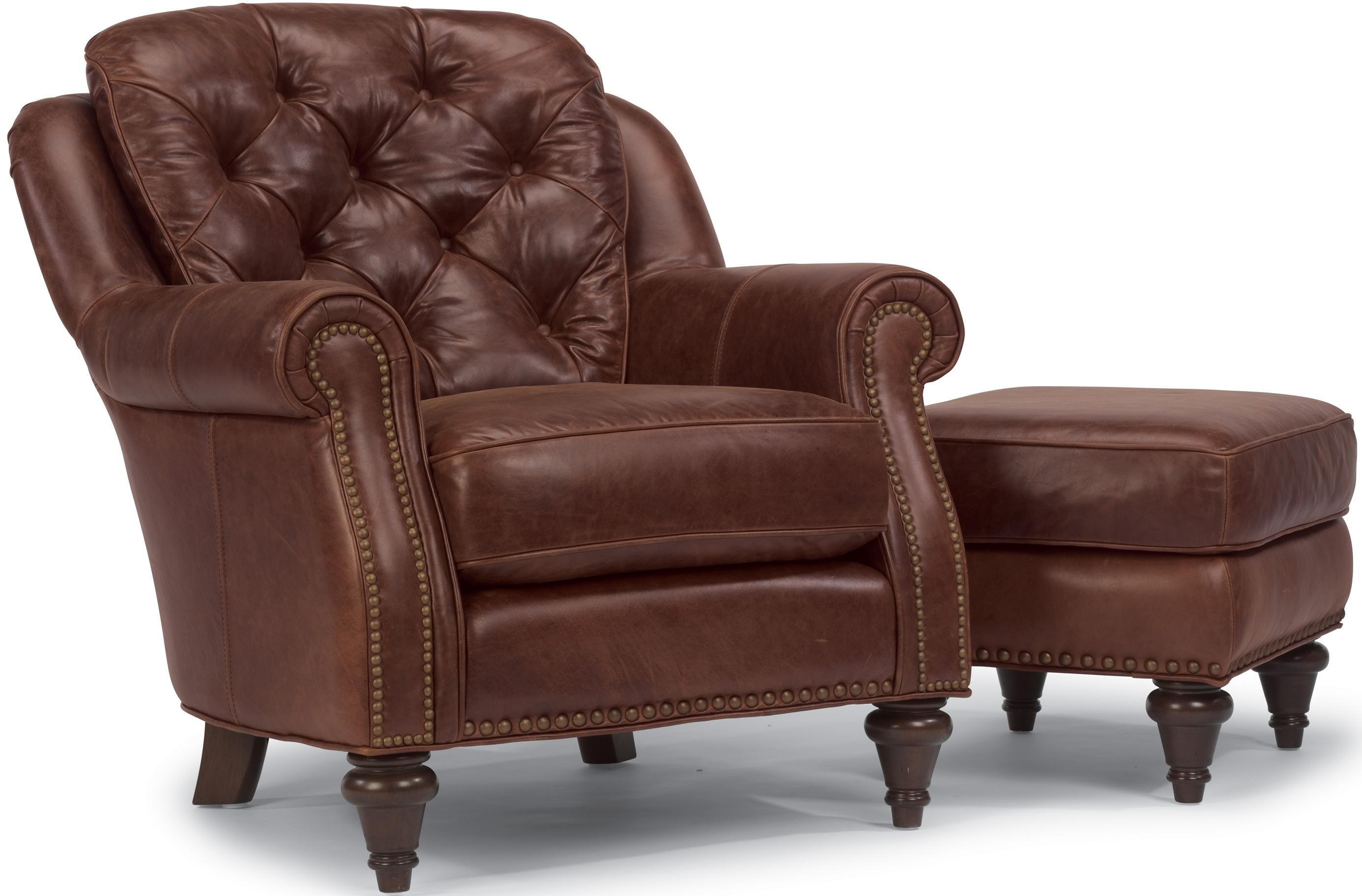 Latitudes Caledonia Chair and Ottoman by Flexsteel