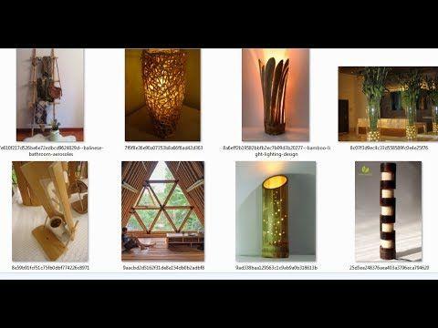 100 IDEAS DECORACION, CON BAMBU, PLACER Y ESTILO NATURAL - decoracion con bambu