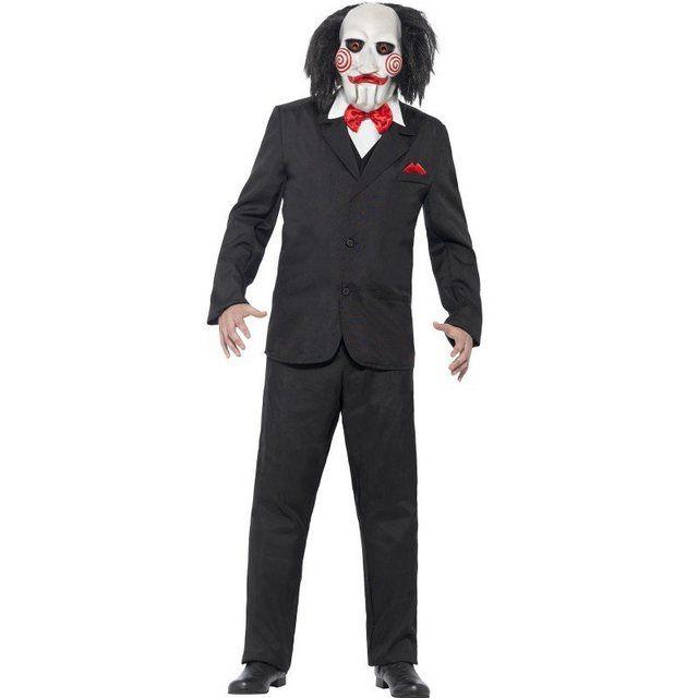 Original Saw Jigsaw Kostüm, Bequeme Herrenjacke mit Tuch und Hemd Attrappe online kaufen | OTTO