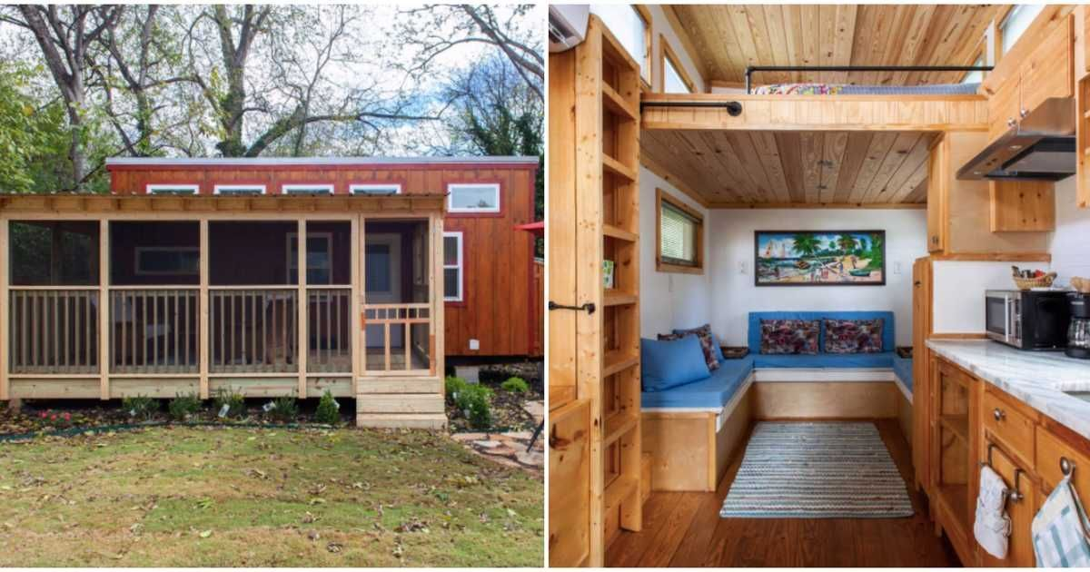 You Can Stay In This Tiny Adorable House Near Atlanta S