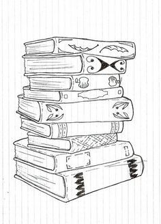 how to draw a closed book - Google Search   Its In a Book ...