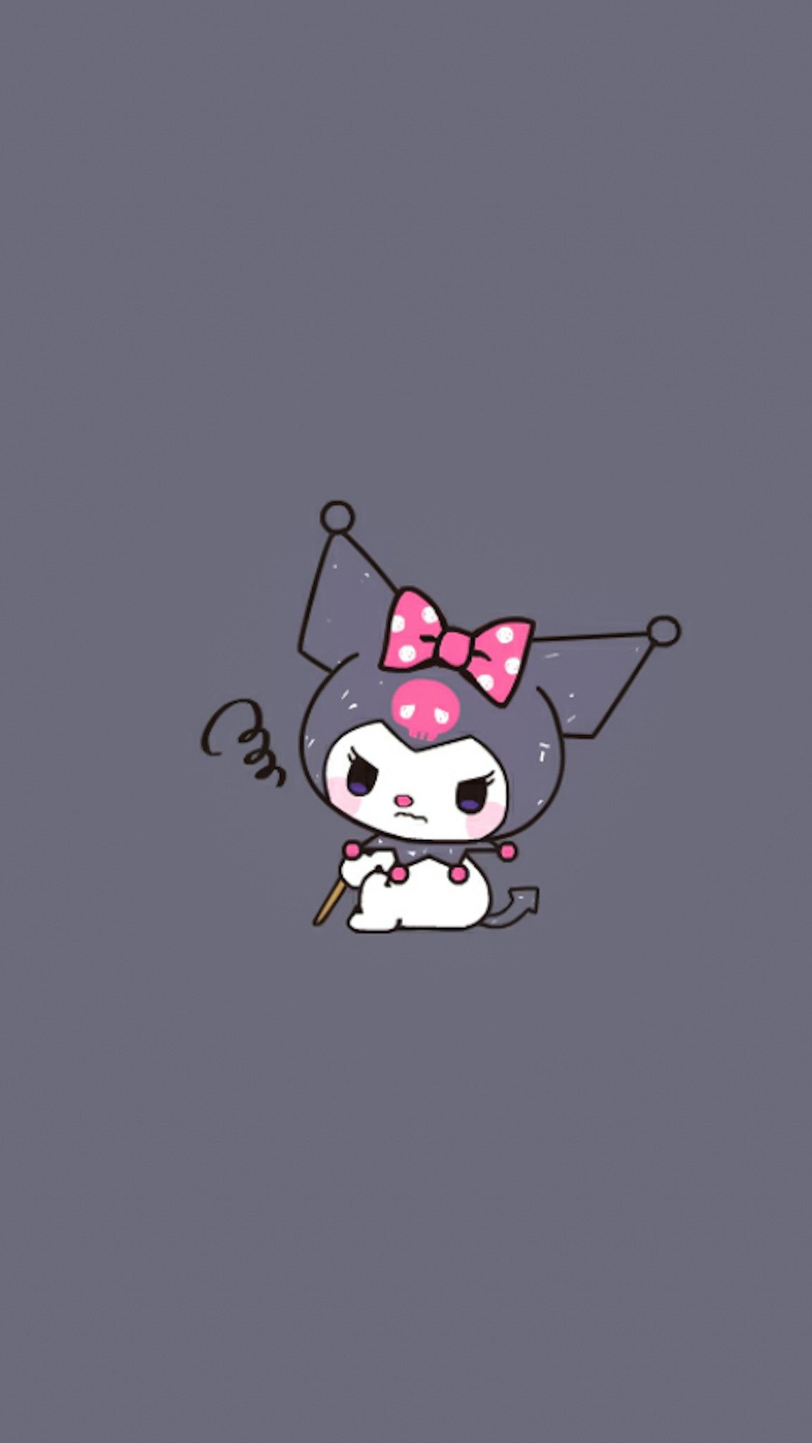 Pin By Aekkalisa On Kuromi Bg Hello Kitty Iphone Wallpaper Iphone Wallpaper Kawaii Kitty Wallpaper