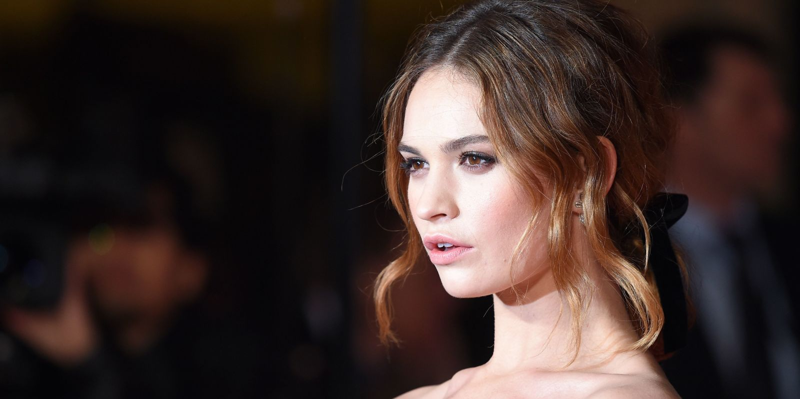 Lily James Lands Her First Campaign with My Burberry Fragrances