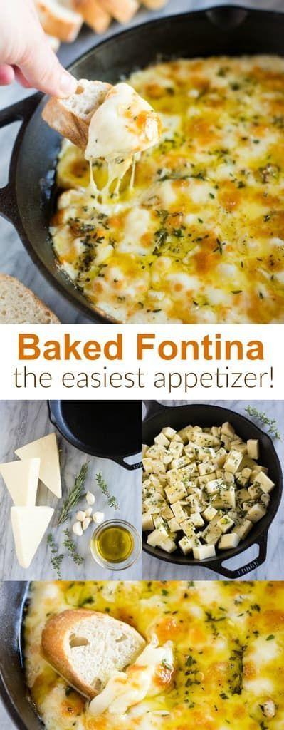 Photo of Baked Fontina Cheese Dip