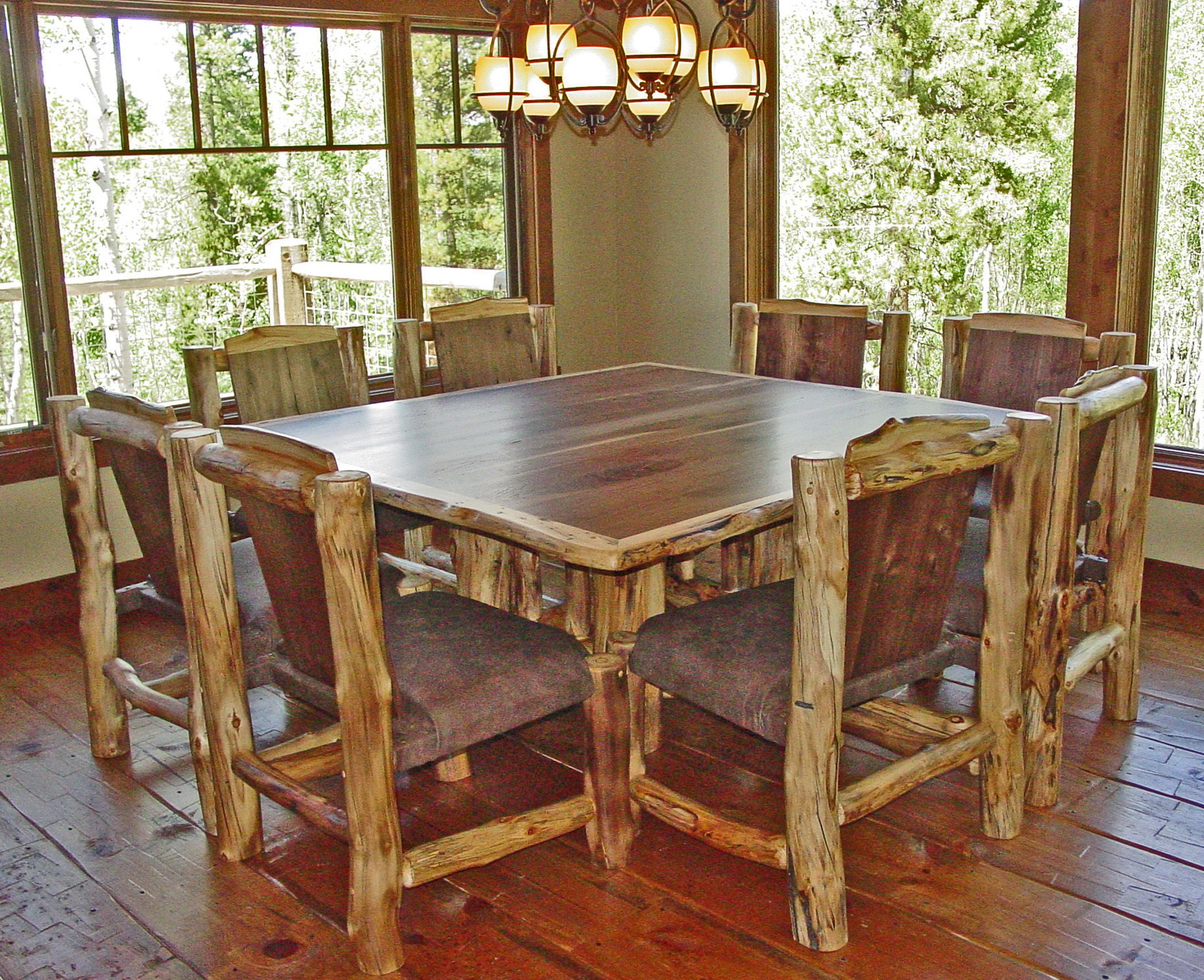 images of rustic dining tables | What\'s New in Mountain Architecture ...
