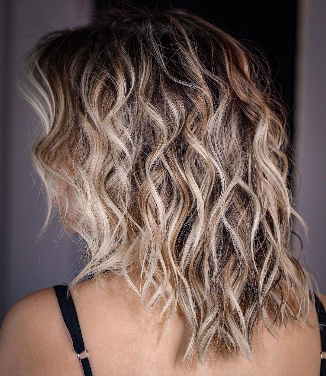 70 Best Variations Of A Medium Shag Haircut For Your Distinctive Style Beach Wave Hair Wavy Beach Hair Medium Hair Styles
