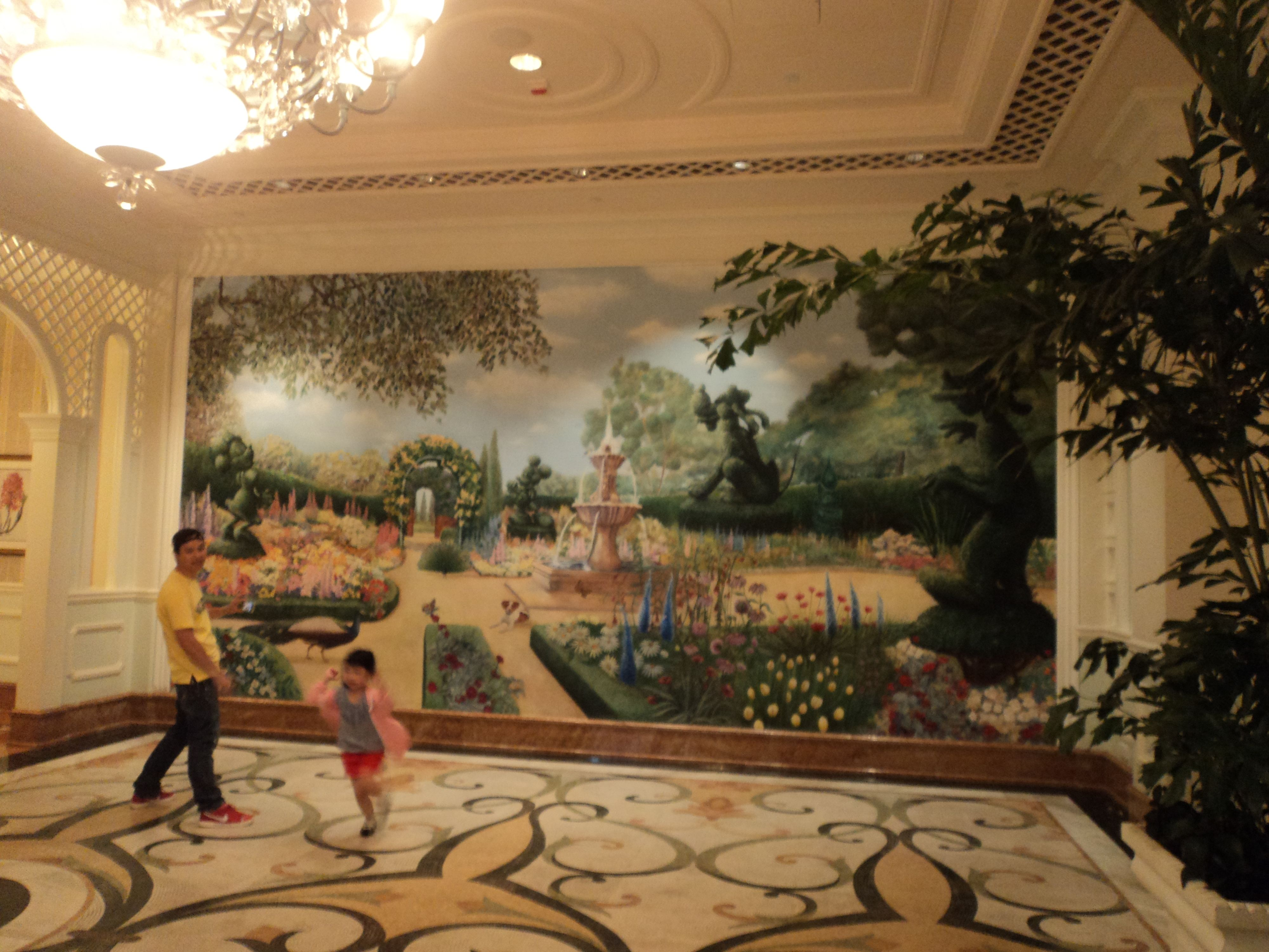 Entrance Enchanted Garden Restaurant ♥ Hong Kong