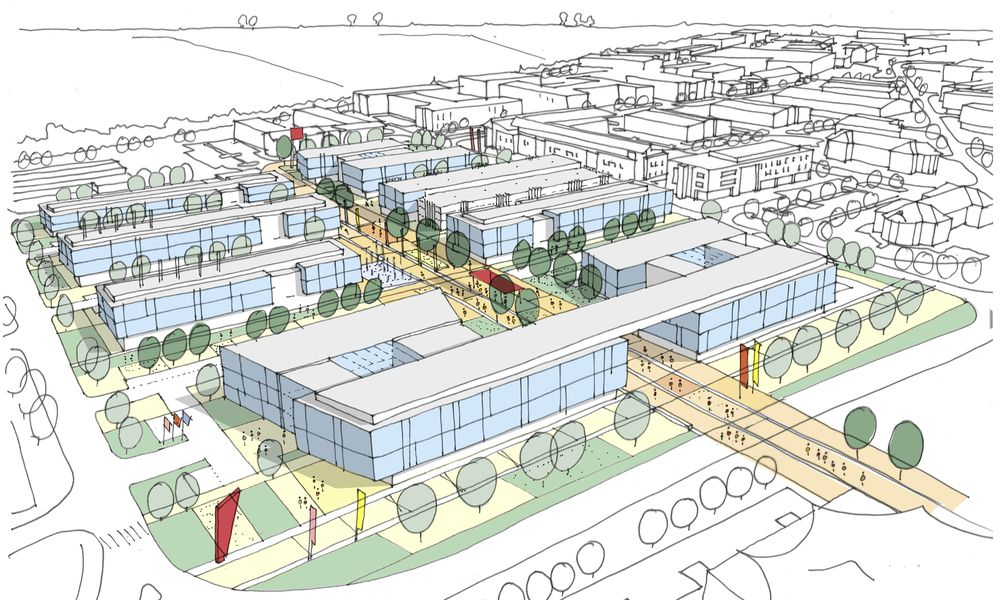 Image result for business park master plan Business