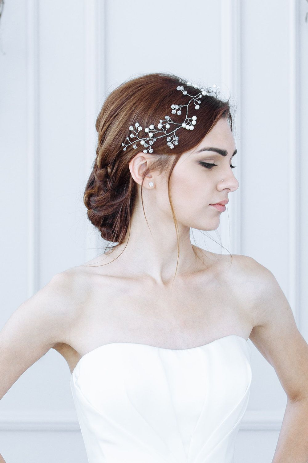 acconciatura sposa wedding hair fashion hairstyle 2018 bride ...