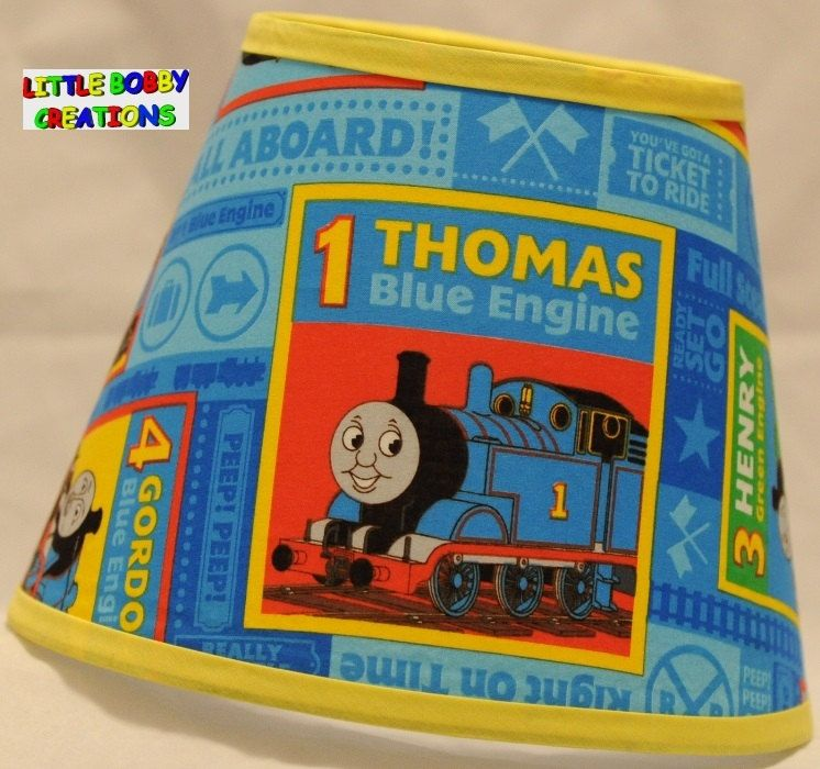 Thomas tank engine train fabric lamp by littlebobbycreations thomas tank engine train fabric lamp by littlebobbycreations mozeypictures Images