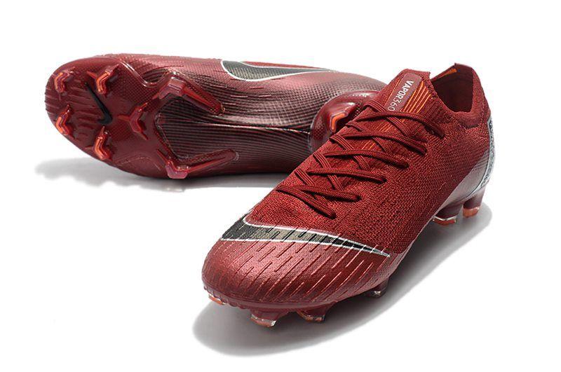 b86e810de6 Nike Mercurial Vapor XII Elite FG Zapatos de Fútbol - Rojo Negro ...