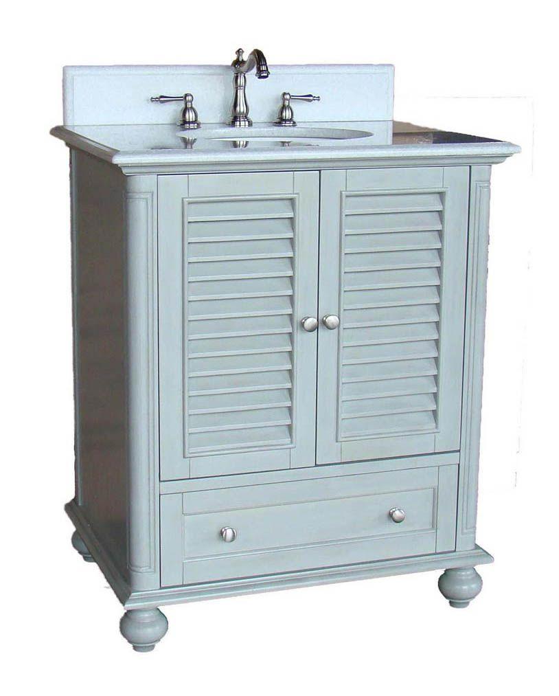 Chans Furniture GDCK Keysville Inch Grey Bathroom Vanity - 30 inch grey bathroom vanity
