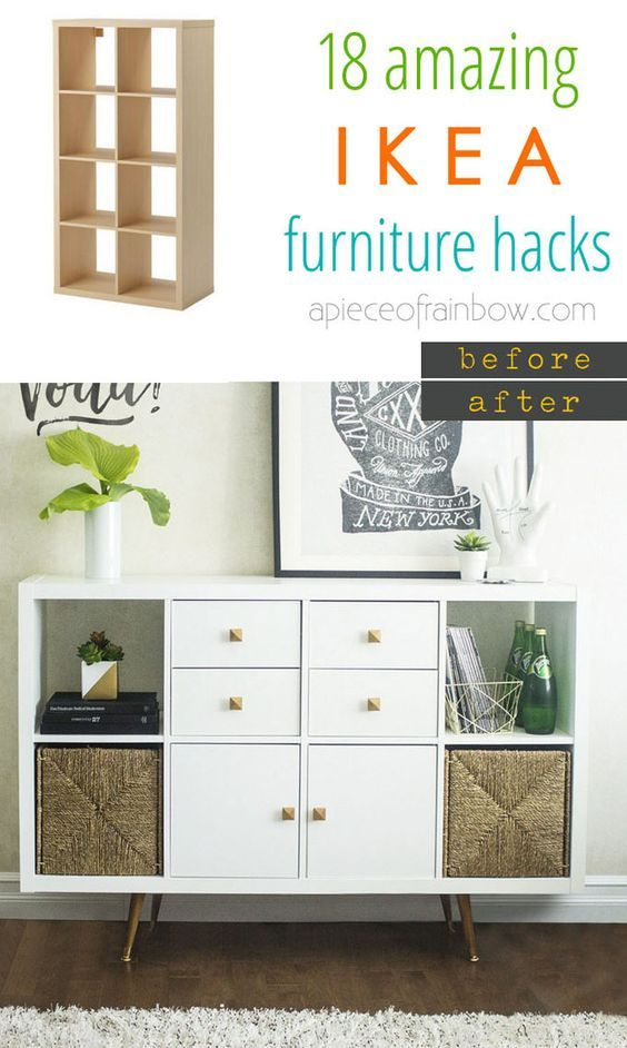 easy custom furniture with 18 amazing ikea hacks page 3 of 3 ikea m bel ikea m bel und. Black Bedroom Furniture Sets. Home Design Ideas